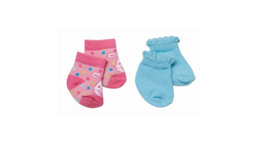 Zapf Creation BABY born Socken 2 Paar 3fach sortiert