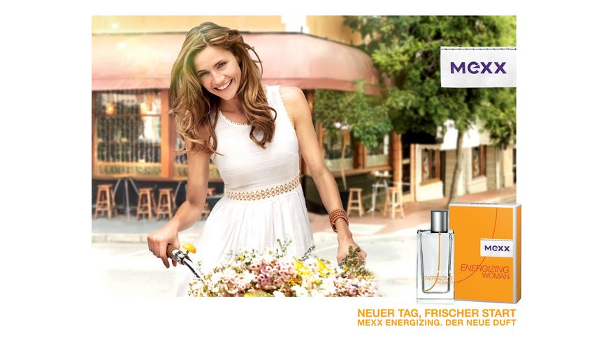 MEXX Energizing Woman Eau de Toilette Natural Spray