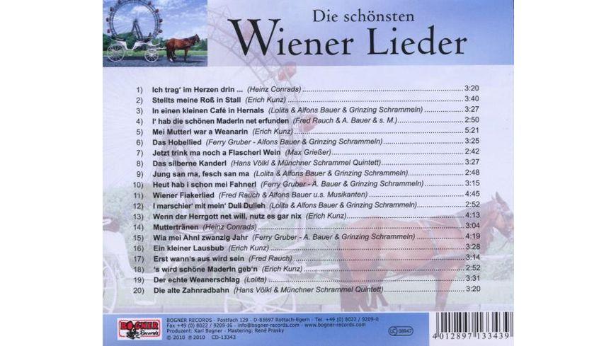 Die schoensten Wienerlieder