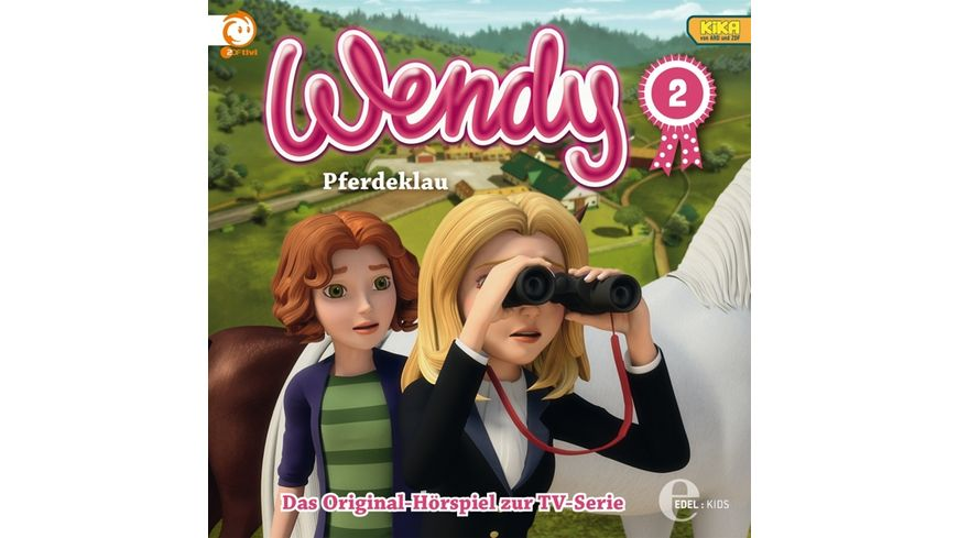 2 Original Hoerspiel z TV Serie Pferdeklau
