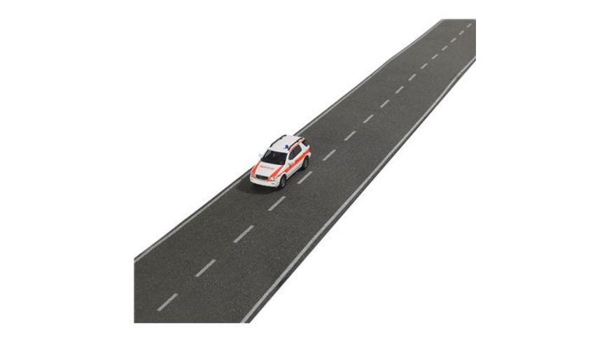 BUSCH 9708 H0 BUSCH Modellspielwaren Strasse mit Automodell