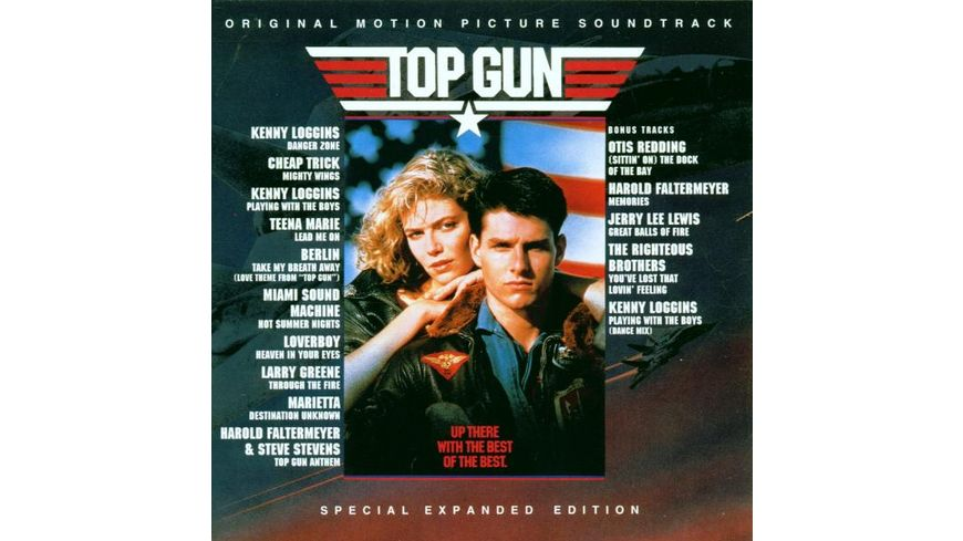 Top Gun Motion Picture Soundtrack Special Expan
