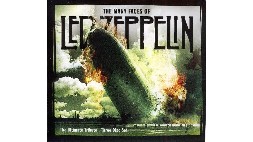 Many Faces Of Led Zeppelin Ultimate Tribute
