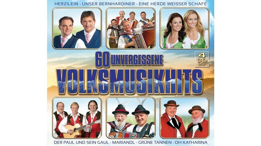 60 unvergessene Volksmusikhits