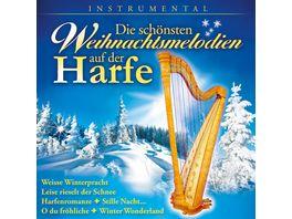 Die schoensten Weihnachtsmelodien auf der Harfe