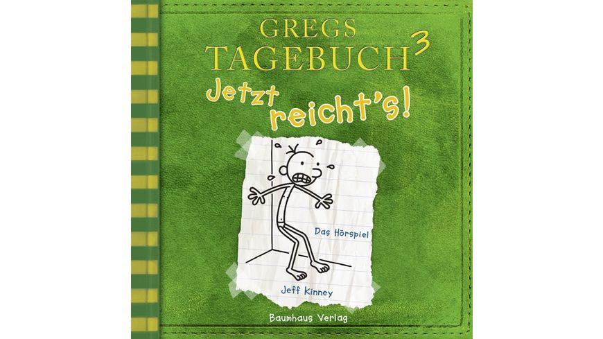 Gregs Tagebuch 3 Jetzt reicht s
