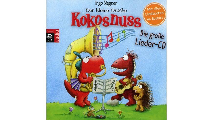 Der Kleine Drache Kokosnuss Die Grosse Lieder CD