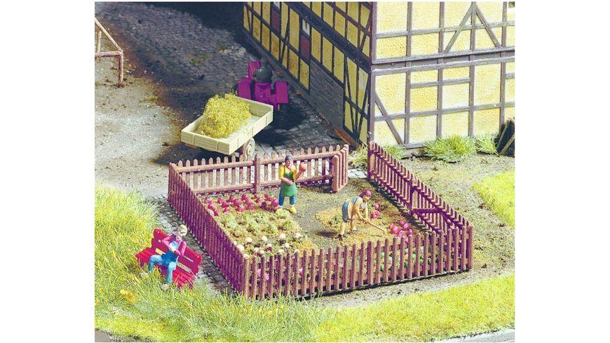 NOCH 13070 Gartenzaun 22 Teile
