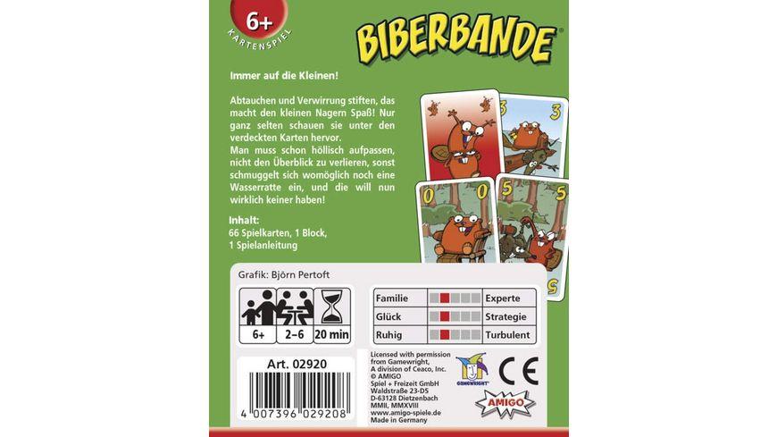 Amigo Spiele Biberbande