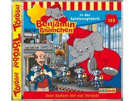 Folge 123 in der Spielzeugfabrik