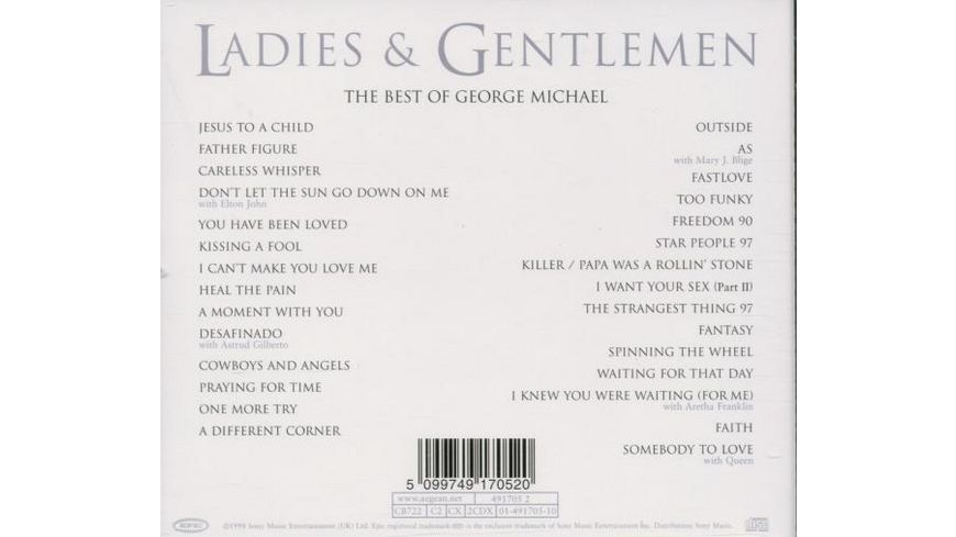 Ladies Gentlemen The Best of George Michael