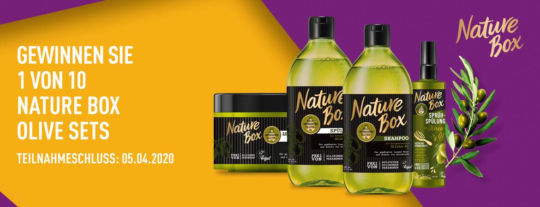 Gewinnspiel Nature Box
