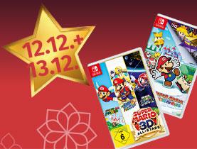 10% Rabatt auf Switch & Nintendo 3DS Spiele