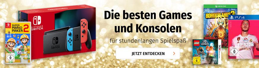Games & Konsolen bei Müller