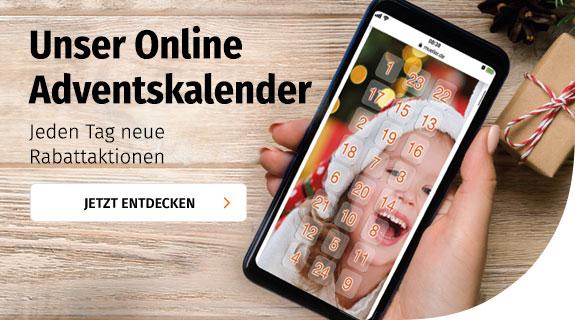 Online Adventskalender bei Müller