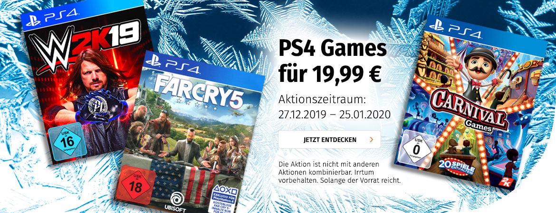 PS4 Games für 19,99€