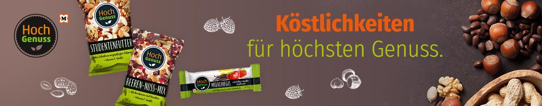 Hochgenuss, eine Eigenmarke von Müller