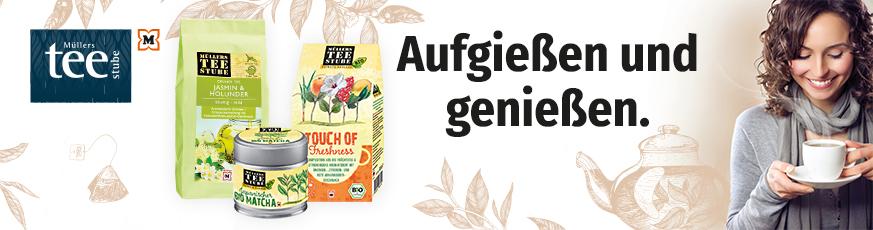 Müllers Teestube - Teegenuss für alle Sinne