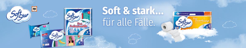 Softstar, eine Eigenmarke von Müller