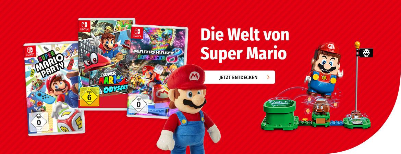 Die Welt von Super Mario