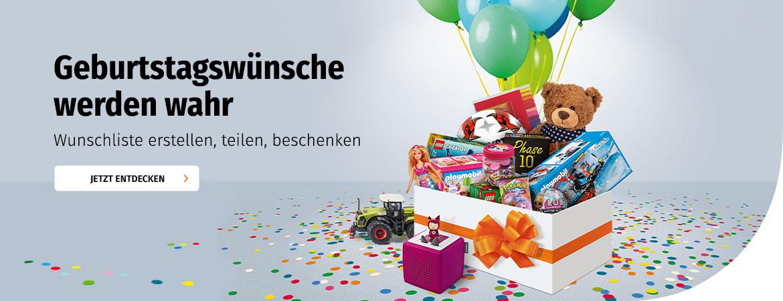 Müller Wunschliste erstellen