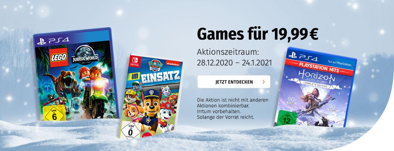 Games für 19,99 €