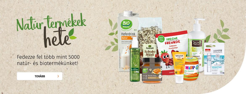 Natúr termékek hete