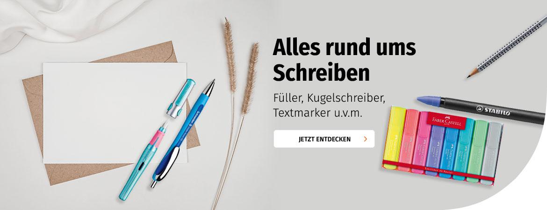Schreibgeräte bei Müller