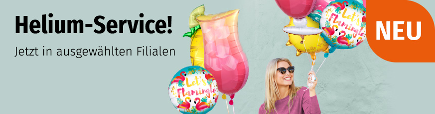 Helium-Service bei Müller