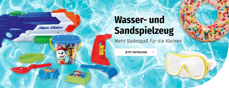 Wasser- und Sandspielzeug
