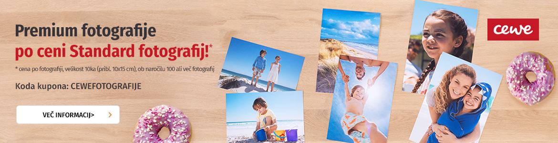 CEWE Premium fotografije, po ceni Standard fotografij