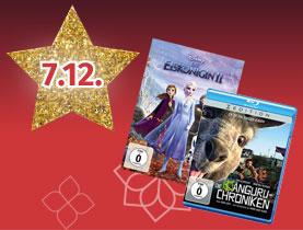 20% auf alle Blu-Rays & DVDs