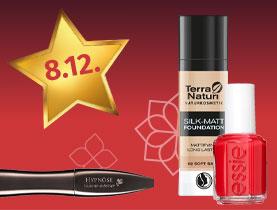 20% Rabatt auf alle Artikel der dekorativen Kosmetik der Parfümerie und Naturkosmetik
