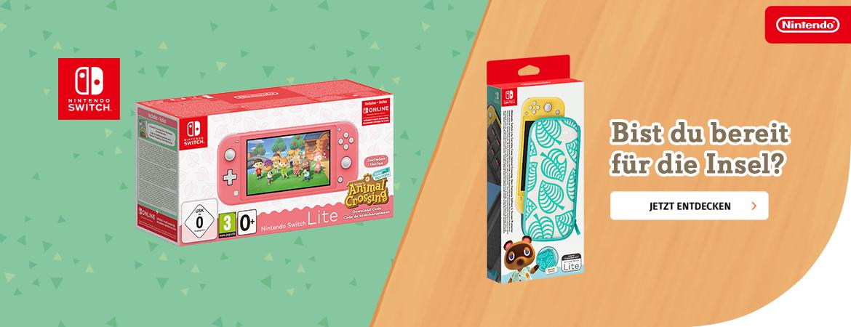 Switch Lite Animal Crossing Bundle