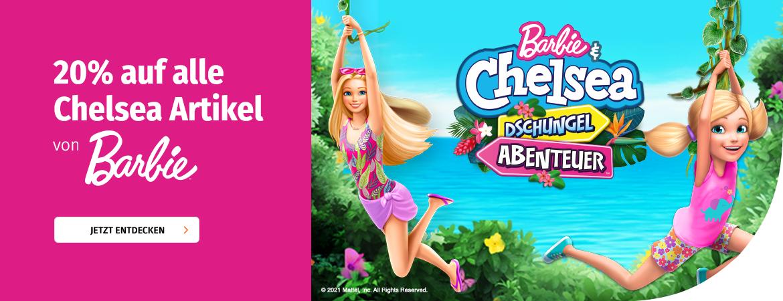 20% auf alle Chelsea-Artikel von Barbie