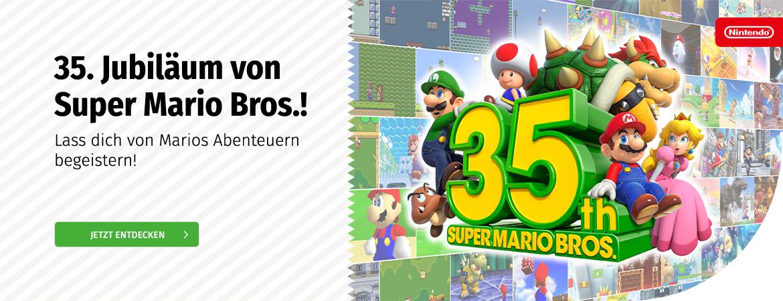 Nintendo 35 Jahre Super Mario