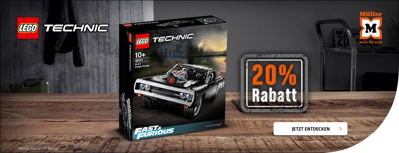 20% auf LEGO Fast & Furious