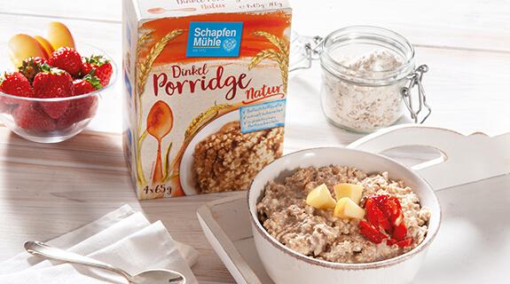 Porridge Natur von Schapfenmühle