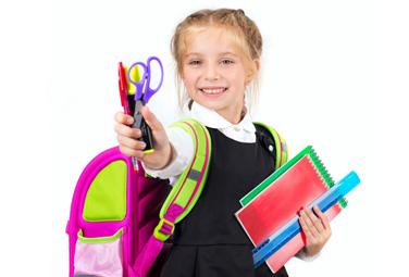 Schulranzen und Schulbedarf