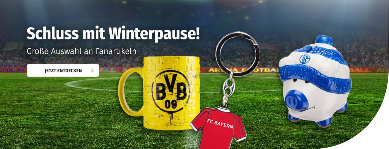 Fanshop bei Müller