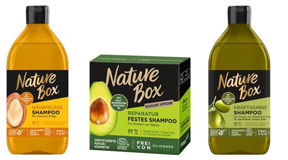 Productos de Nature Box