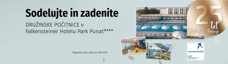 Zadenite družinske počitnice v Falkensteiner hotelu Park Punat
