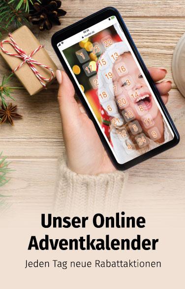 Ihr Adventkalender bei Müller