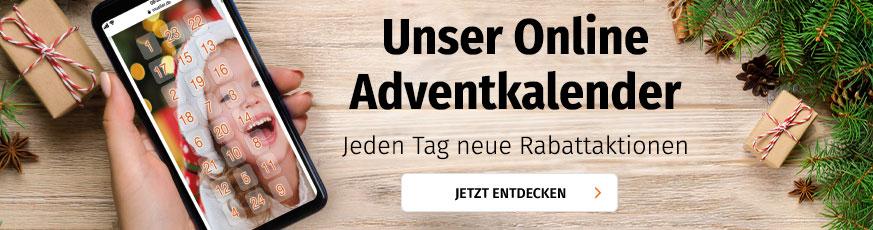 Online Adventkalender bei Müller
