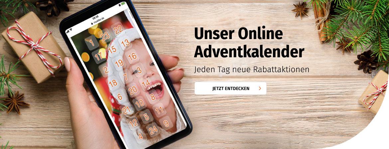 24 tolle Rabattaktionen im Online-Adventkalender
