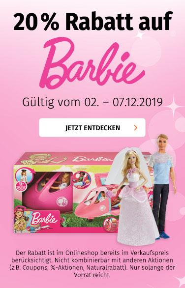 20% auf Barbie