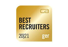 BEST RECRUITERS Gold 2020/21