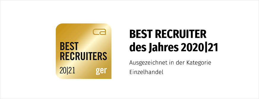 BEST RECRUITER Gold 2020/21