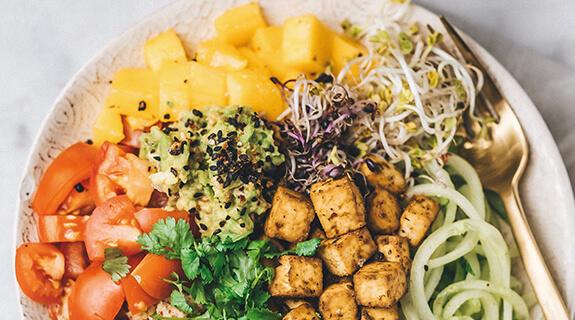 Couscous-Tofu-Bowl