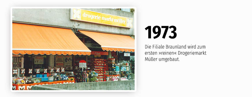 Filiale Braunland 1973
